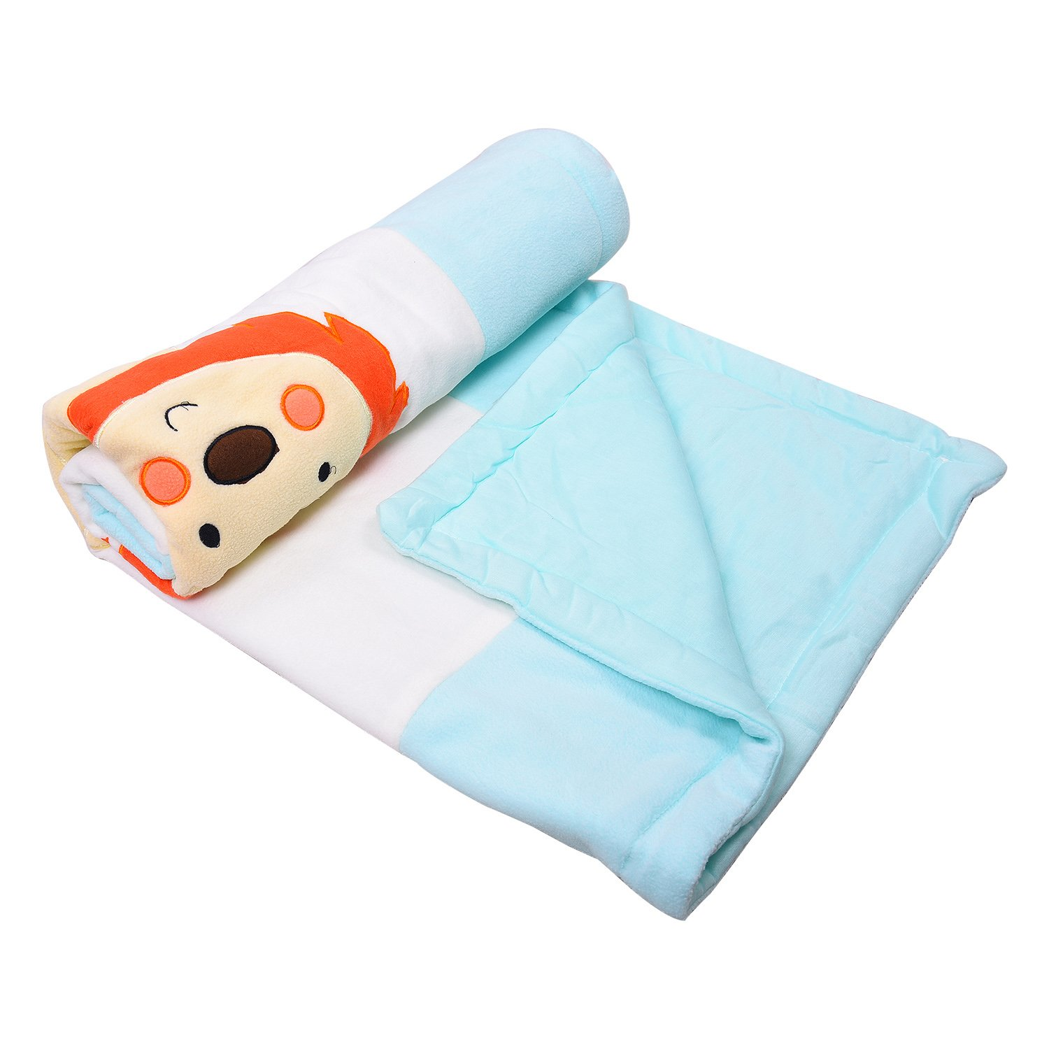 "132 Premium Soft Cozy Fleece Blanket for Newborn | Receiving Blanket, Crib, Stroller, Travel, Outdoor (34"" x 41"")"