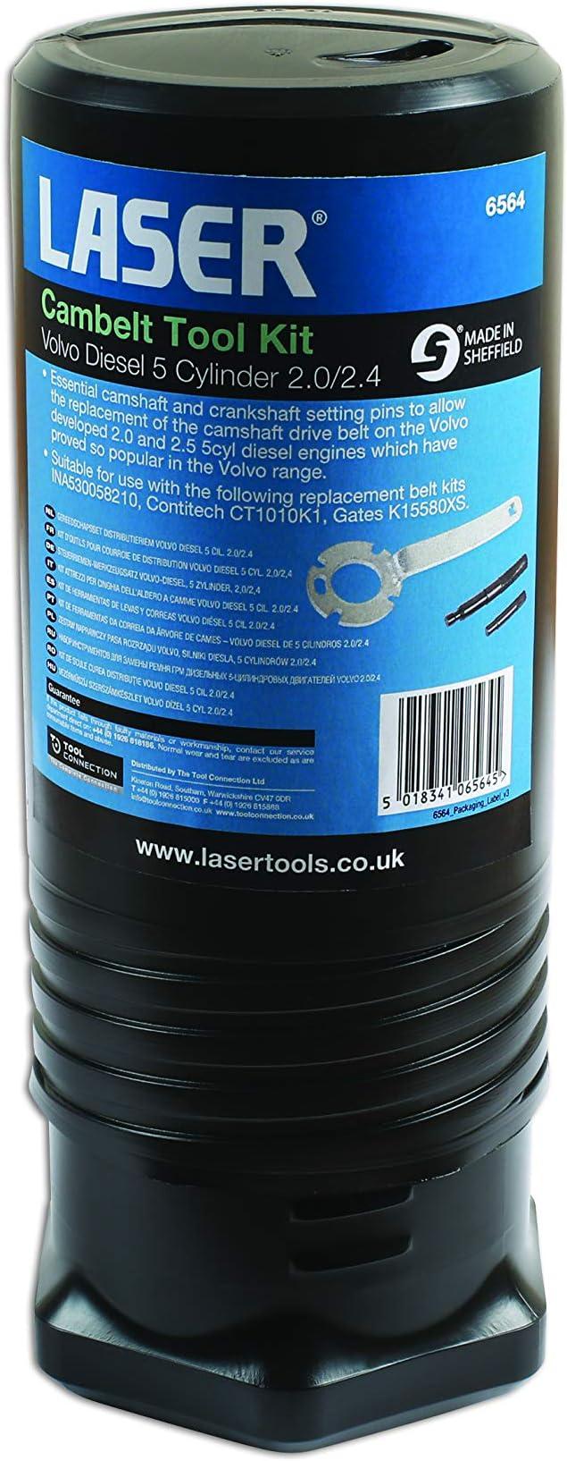 Laser Tools 6564 Cam-Belt Tool Kit Volvo Diesel 5 Cyl 2.0//2.4