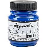 Jacquard Products Textile Color Fabric Paint 2.25-Ounce, Sky Blue