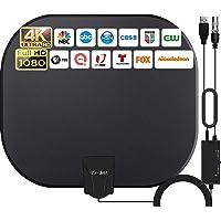 2021 Más Nuevo Antena de TV Interior,320KM Rango Amplificador de Señal Inteligente Antena de TV Digital para Interiores…