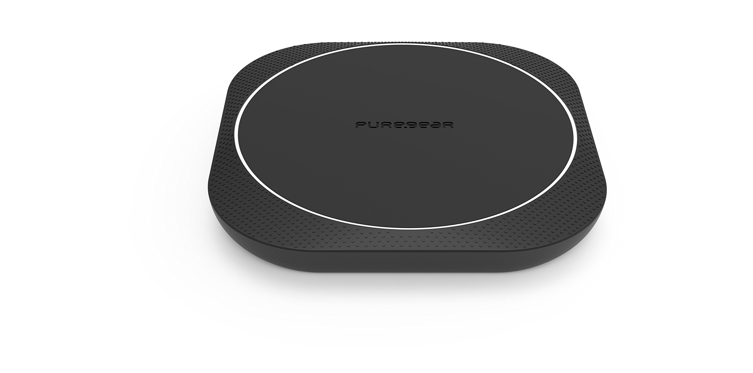 PureGear 10W Wireless Charging Pad, Qi-Certified Wireless Charger + QC 3.0 Wall Charger Adapter + 5ft Micro USB Cable