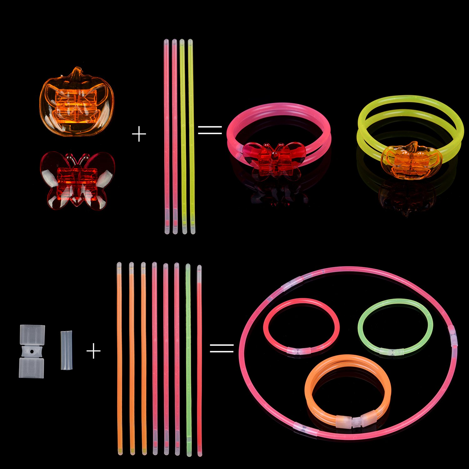 Glow Stick Led Light Up Party Favors Bulk Glow In The Dark