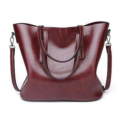 7f4c66018eb Imentha Women Top Handle Satchel Handbags Shoulder Bag Tote Purse