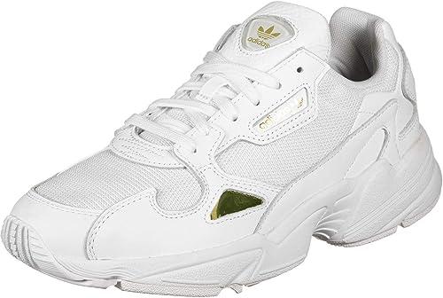 adidas Damen Falcon W Sneaker, weiß, Einheitsgröße