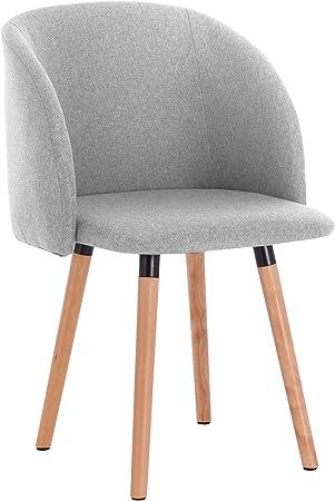 sillas comedor nordicas tapizadas