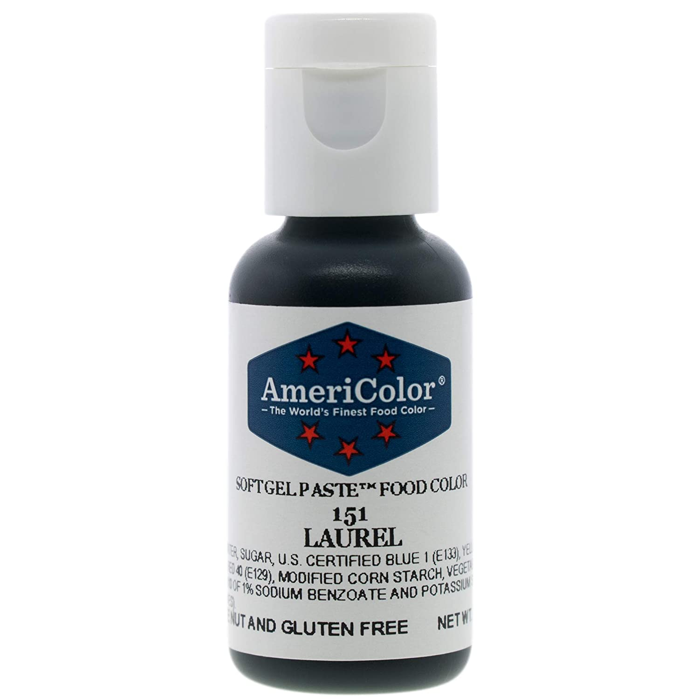Food Coloring AmeriColor Laurel Soft Gel Paste .75 Ounce