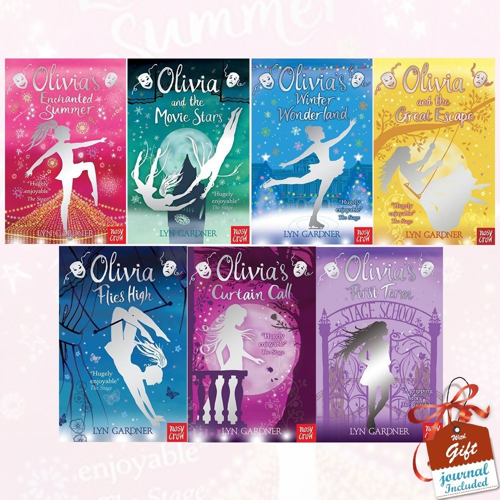 Olivia Series Lyn Gardner Collection 7 Books Bundle with Gift Journal (Olivia's Enchanted Summer, Olivia and the Movie Stars, Olivia's Winter Wonderland, Olivia and the Great Escape.. PDF
