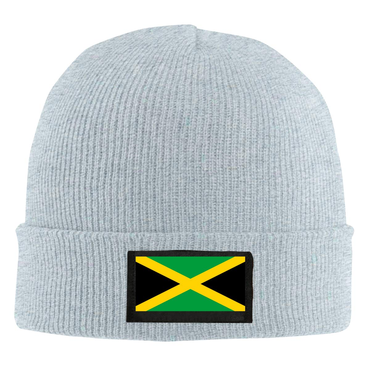 BF5Y6z/&MA Mens and Womens Flag of Jamaica Knit Cap 100/% Acrylic Cotton Beanies Cap