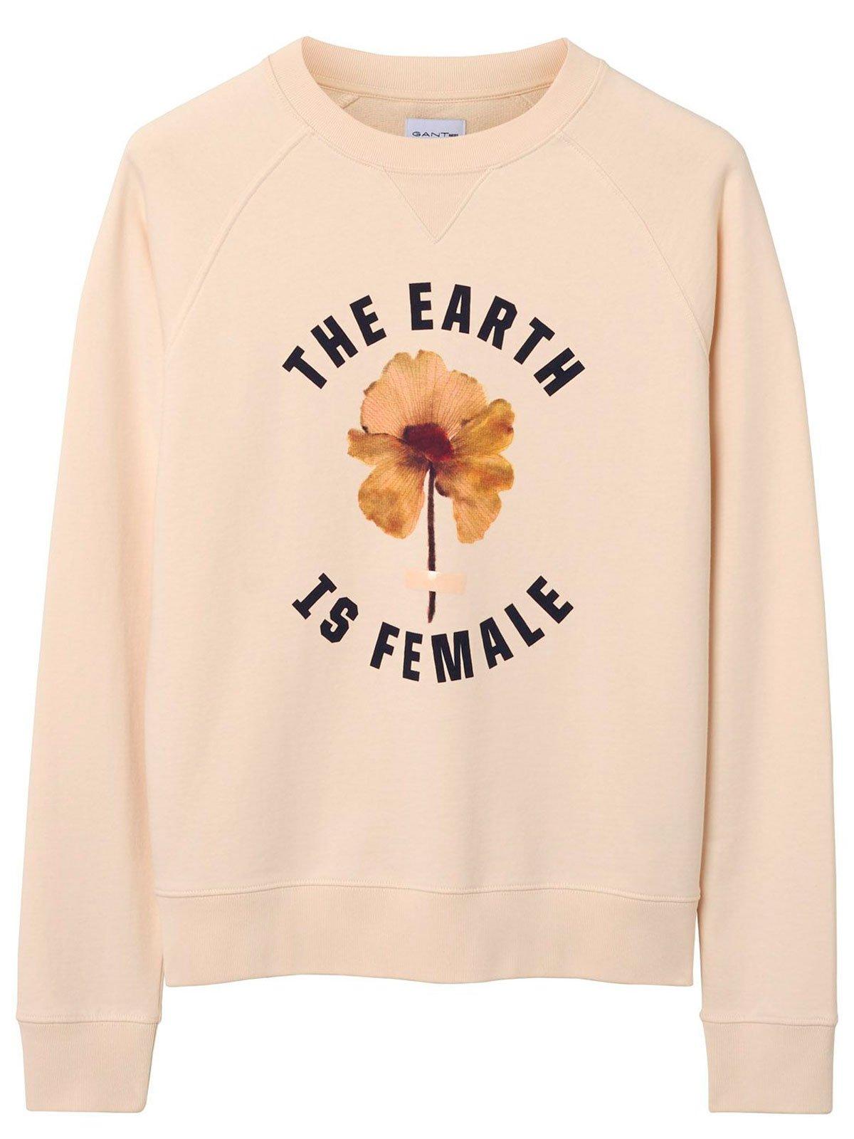 GANT Men's 18012091012208 Pink Cotton Sweatshirt