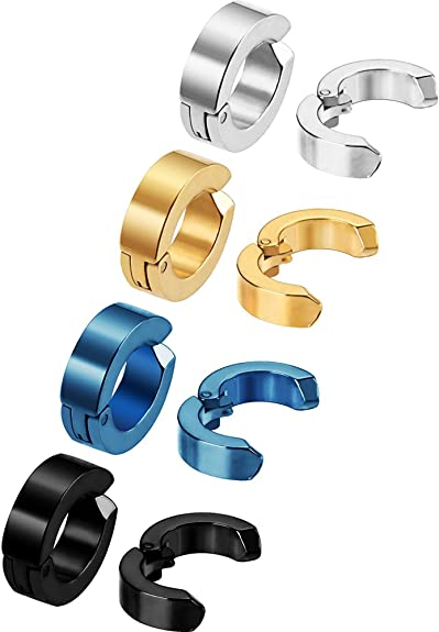 O Clips With Inner Ring - All Sizes Single Eared Stainless Steel Clips