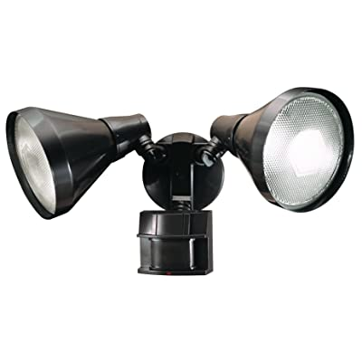 Heath Zenith HZ-5412-BZ-D Heathco Hz-5412-Bz Security Light, 120 Vac, 300 W, Halogen, Medium (E26), 150 W, Bronze - Flood Lighting - .com