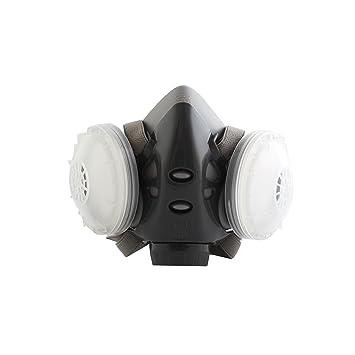 SYMTOP Antipolvo Química Pintura Spray Láser Mascarilla Máscara de Gas Seguridad Industrial: Amazon.es: Deportes y aire libre