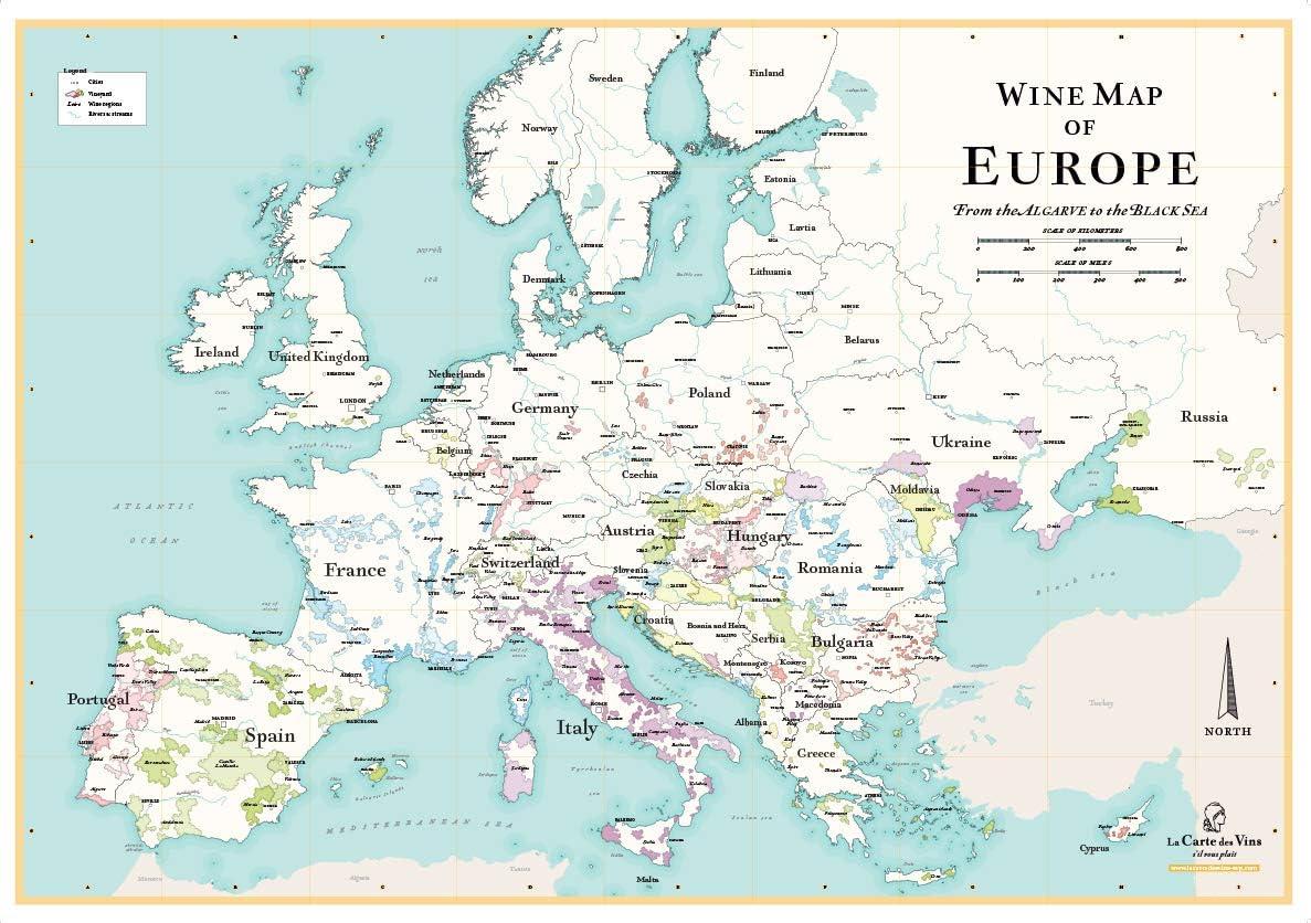 Carte des Vins deurope