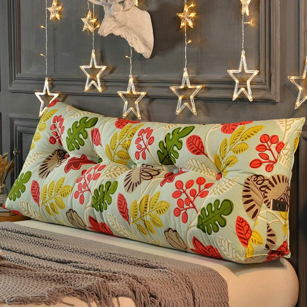 ベッドサイドクッションキャンバスベッド枕ラージバッククッションダブルウエストクッションベッドヘッド JSSFQK (Color : C, Size : 200cm) B07T6F8F45 C 200cm