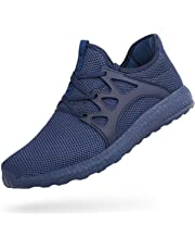 Men's Tennis Shoes Slip On Knit Walking Running Gym Sneakers