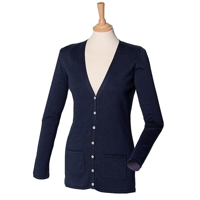 Para el cuello traje de neopreno para mujer V chaqueta Henbury H723: Amazon.es: Ropa y accesorios