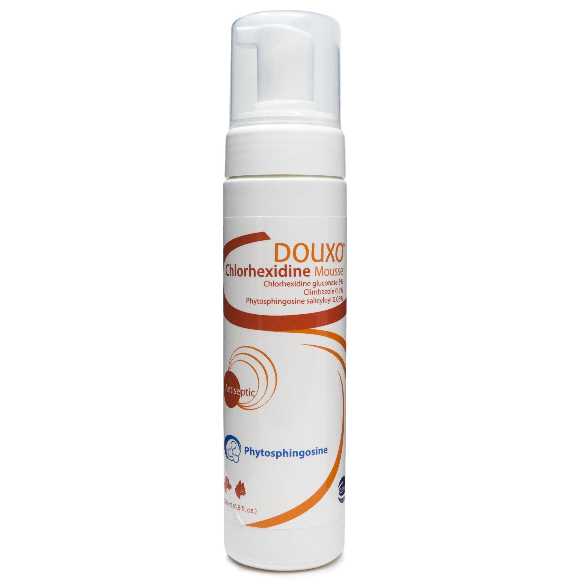 Ceva DOU07146 Douxo Chlorhexidine Ps + Climbazole Mousse, One Size