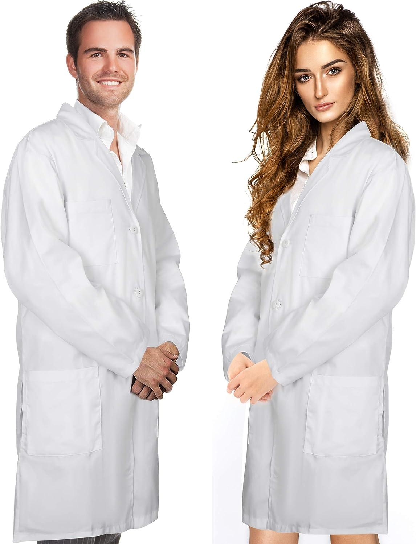 Mad Scientist Doctor Mens Adult Halloween Costume Lab Coat