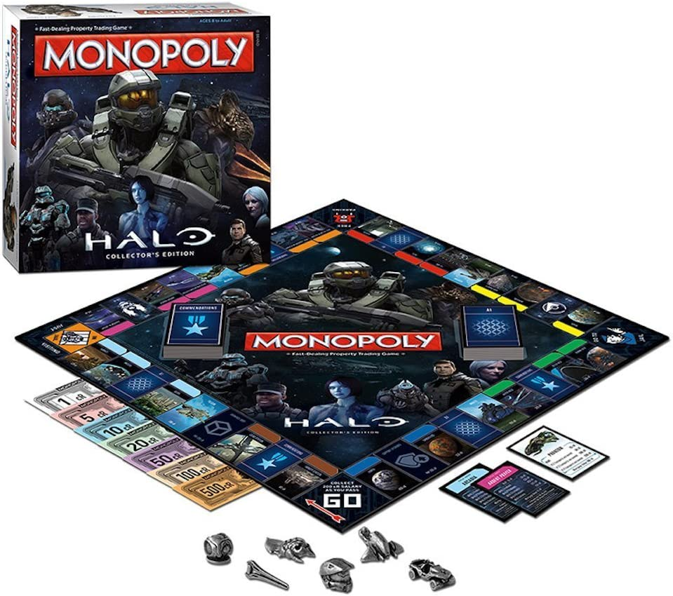 Monopoly: Halo Collectors Edition GameStop Exclusive by Monopoly: Amazon.es: Juguetes y juegos