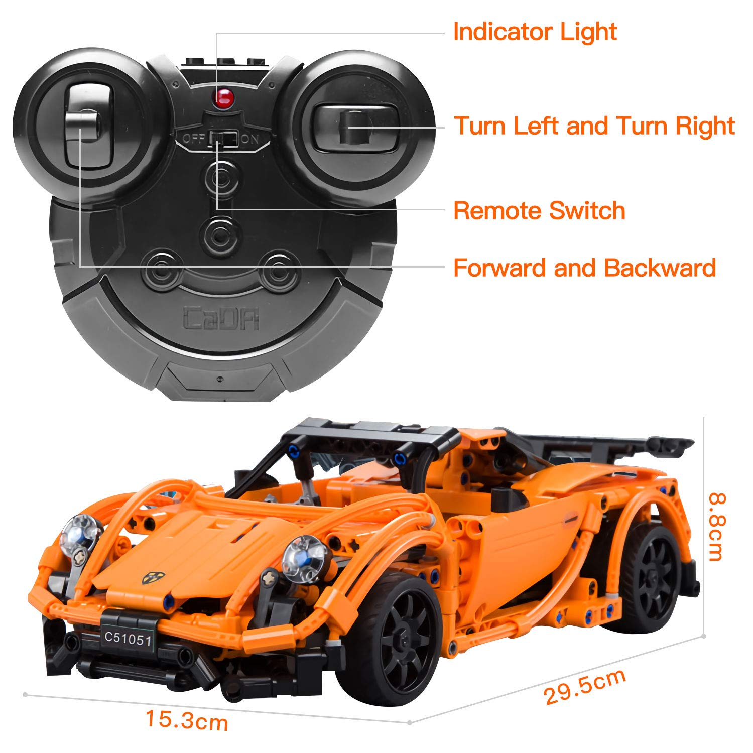Remote Control Car Educational Toys for Boys and Girls STEM ...