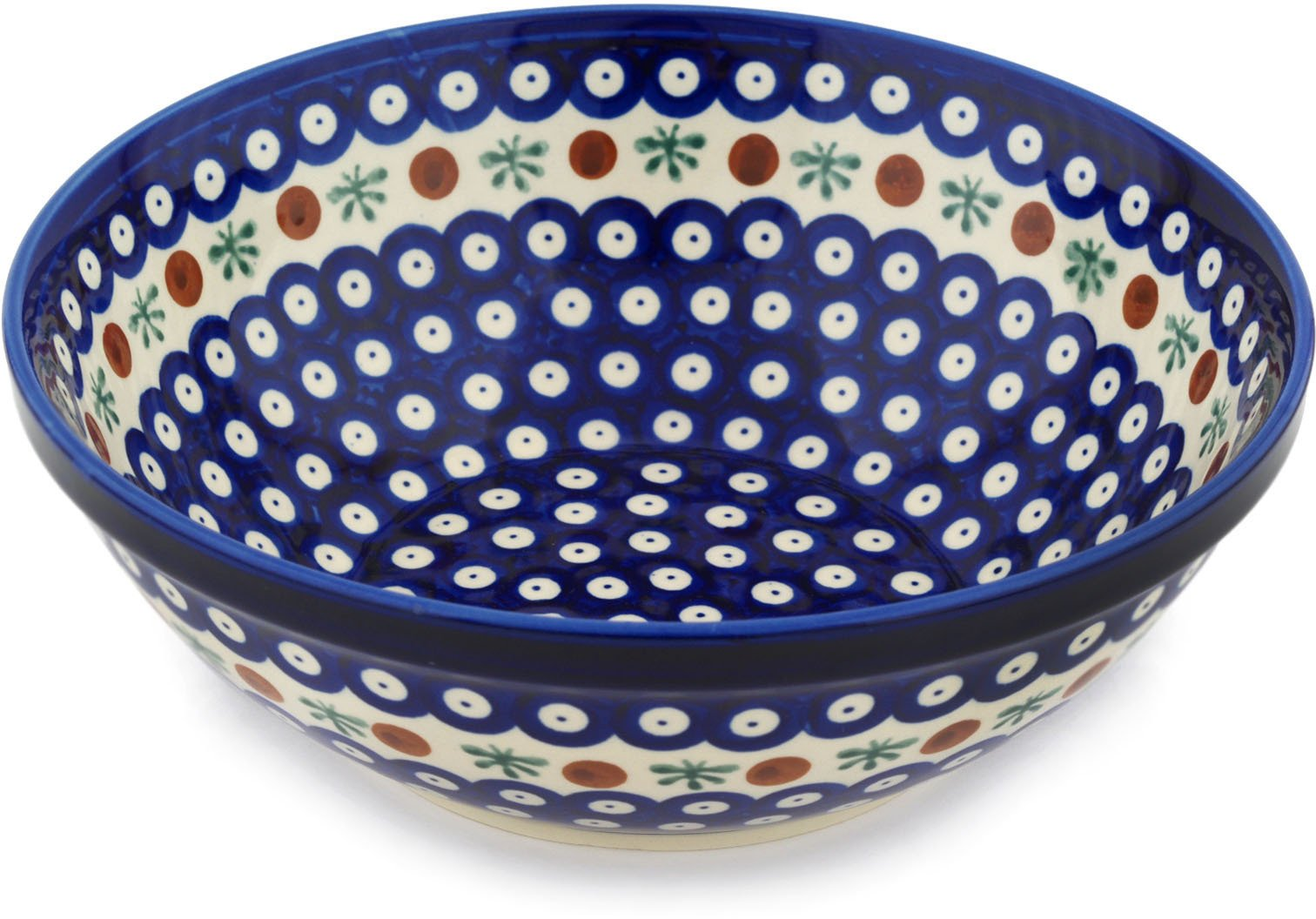 Polish Pottery Bowl 9-inch Mosquito