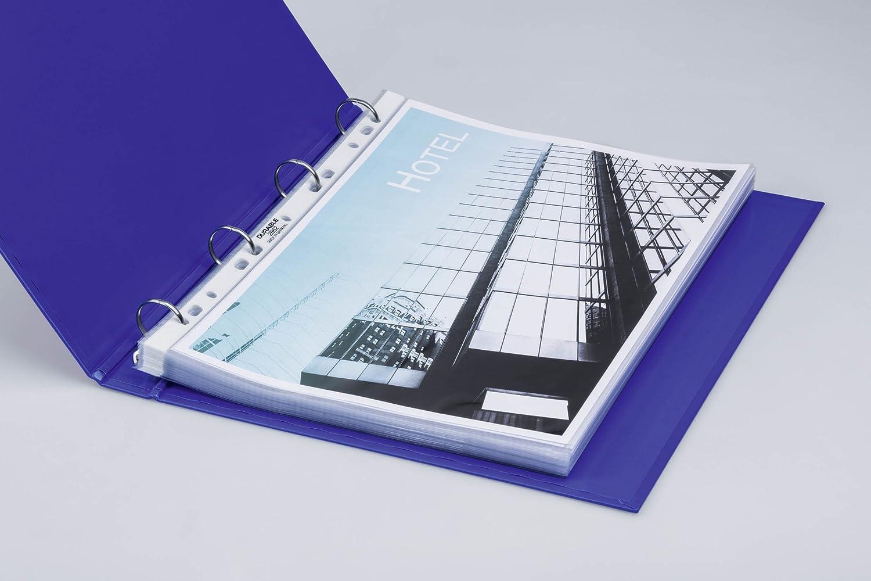 Durable 100 PP Buste trasparenti con fori laterali 80 micrometri
