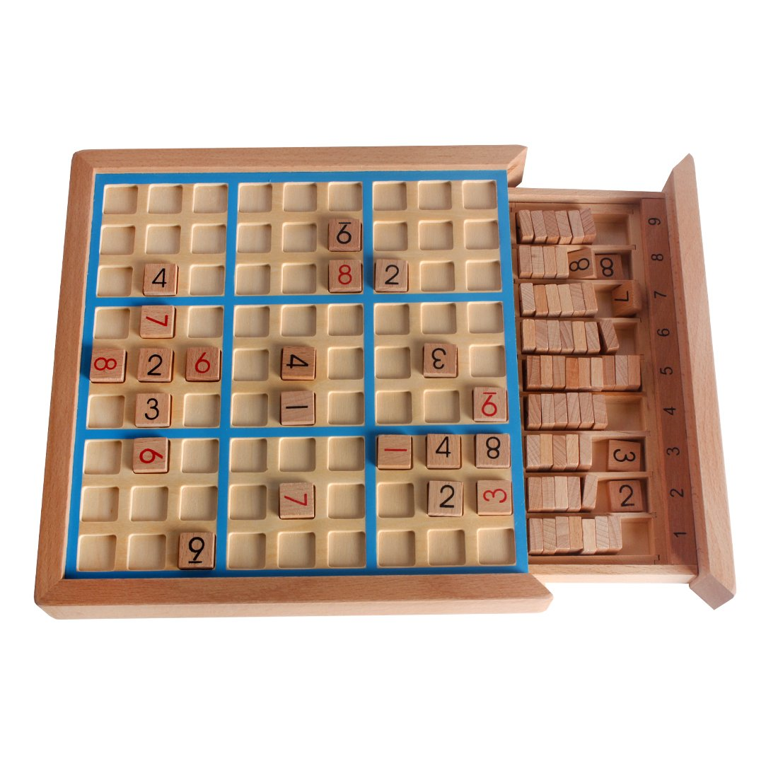 Wooden Sudoku Board Games SD-02 by PP-NEST