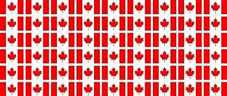 Mini Fahnen Flaggen Set Glatt 20x12mm Aufkleber Kanada Sticker Fürs Büro Schule Und Zu Hause 54 Stück Bürobedarf Schreibwaren