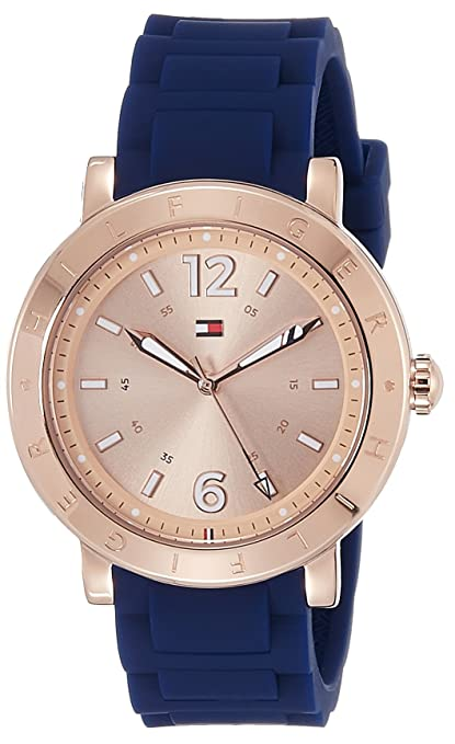 Tommy Hilfiger Analog Rose Gold Dial Women's Watch - TH1781617J Women at amazon