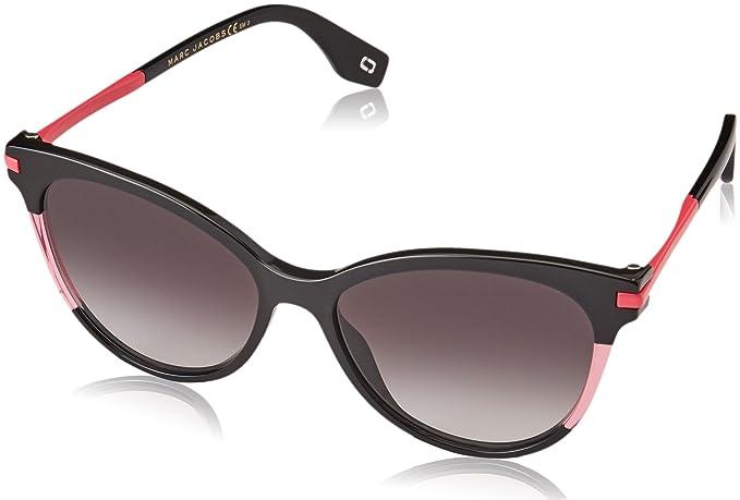 1d0586c86afd5 Marc Jacobs Colour Pop Cateye Sunglasses in Black Fuchsia MARC 295 S 3MR 55  55