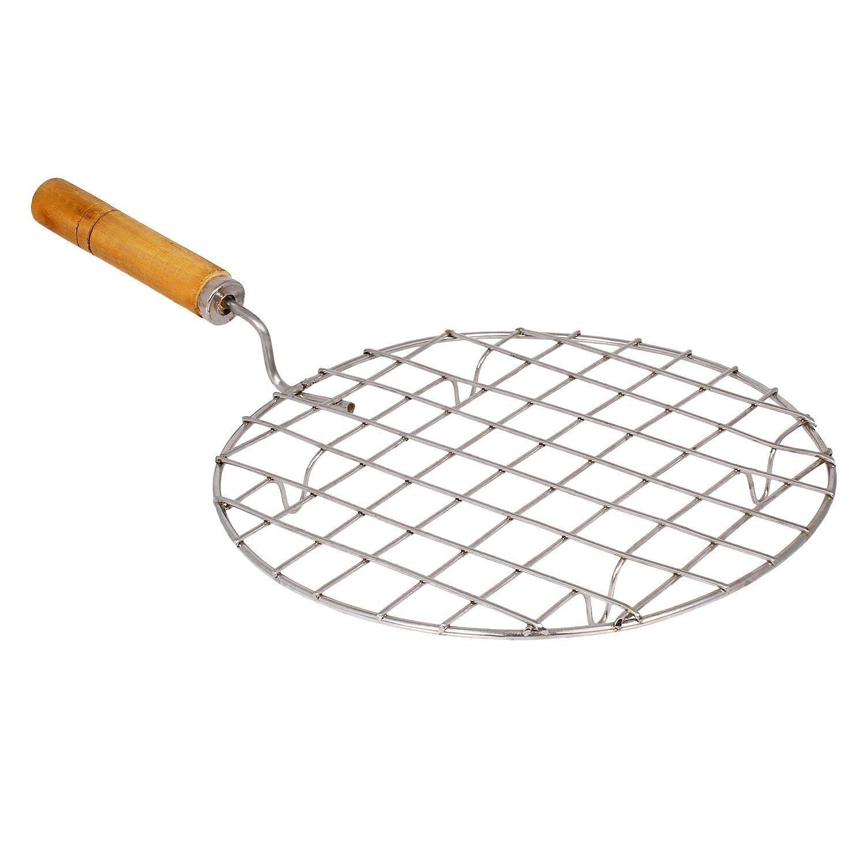 【特価】 Multi-Purpose net,Roasting Round Stainless B07BNRFTS1 Steel Cross Wire Round Steaming steel Cooling Barbecue Racks/Carbon Baking Net/Grill,stainless steel roasting net with wooden handle,stainless steel roasting net,Roasting Net B07BNRFTS1, aDrer.:f560bb2a --- lanmedcenter.ru