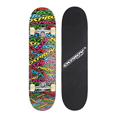 Osprey Stickers Double Kick Pro Skateboard Multicolore