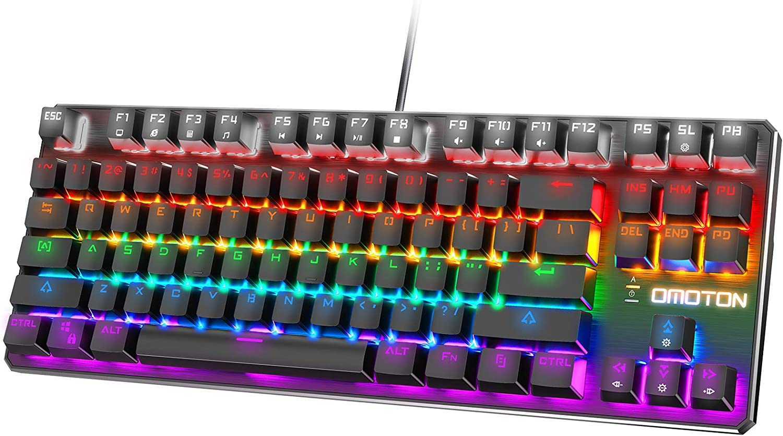 OMOTON TKL Mechanical Gaming Keyboard