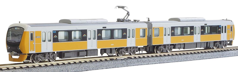 グリーンマックス Nゲージ 静岡鉄道A3000形 ブリリアントオレンジイエロー 2両編成セット 動力付き 30726 鉄道模型 電車 B079GTDS3M