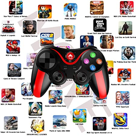 Mobile Controller for PUBG, Megadream Mobile Gamepad Wireless Game  Controller Joystick for Android/iOS/iPhone/iPad, Key Mapping, Shooting  Fighting