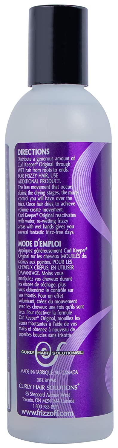Curly Hair Solutions Curl Keeper Original, 8 Ounce by Curly Hair Solutions: Amazon.es: Belleza