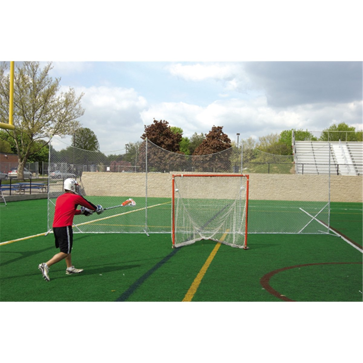 Brine Lacrosse Backstop Extension Net