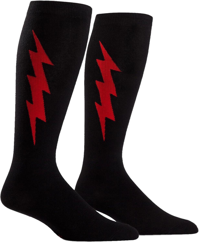 Sock It to Me, Super Fun, Extra Wide Calf Stretch, Unisex Knee High Socks