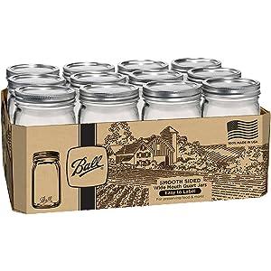 Jarden Home Brands Ball 12PK QT Smooth Jar