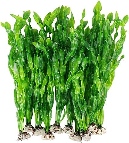Lots 10 Same Design Artificial Plastic Aquarium plants 15 20 plants S