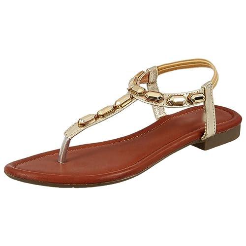 Buy Fashion designer girls'flat Sandal