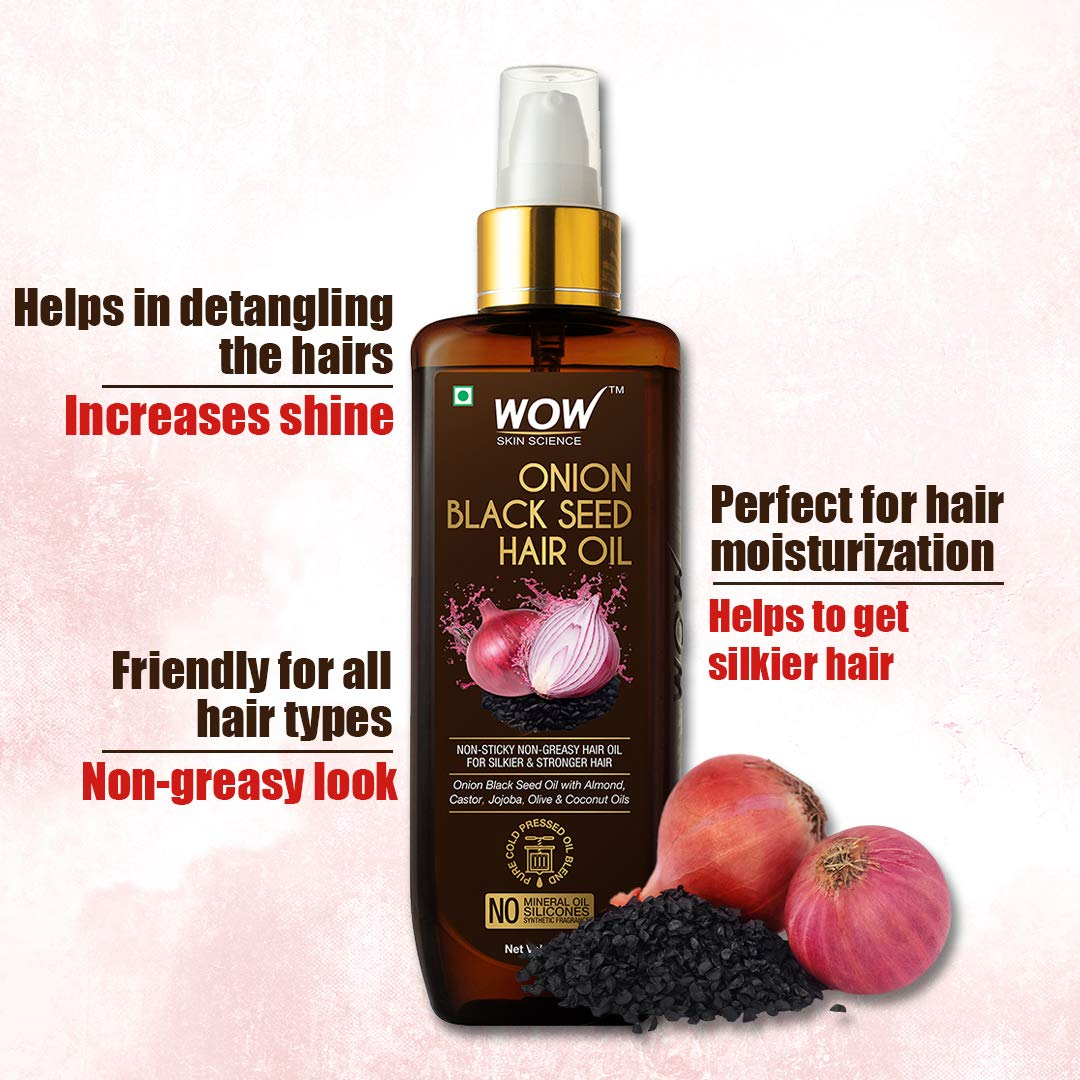 Best Wow hair oil for hair growth and anti-hairfall