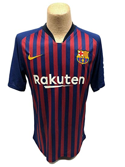 e1a4bc07a Lionel Leo Messi Signed Autographed FC Barcelona Jersey Nike Beckett ...
