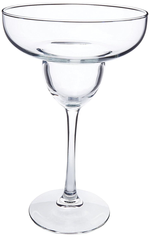 Libbey 13-Ounce Midtown Margarita Glass, Clear, 4-Piece Libreria Venus Inc 7511S4C