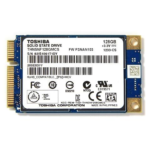 Toshiba THNSNF128GMCS 128GB mSATA PCI-E Unidad de Estado ...