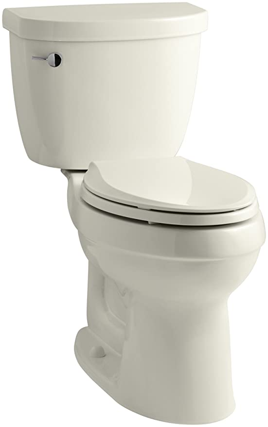 10. KOHLER Cimarron Comfort Height Elongated Toilet