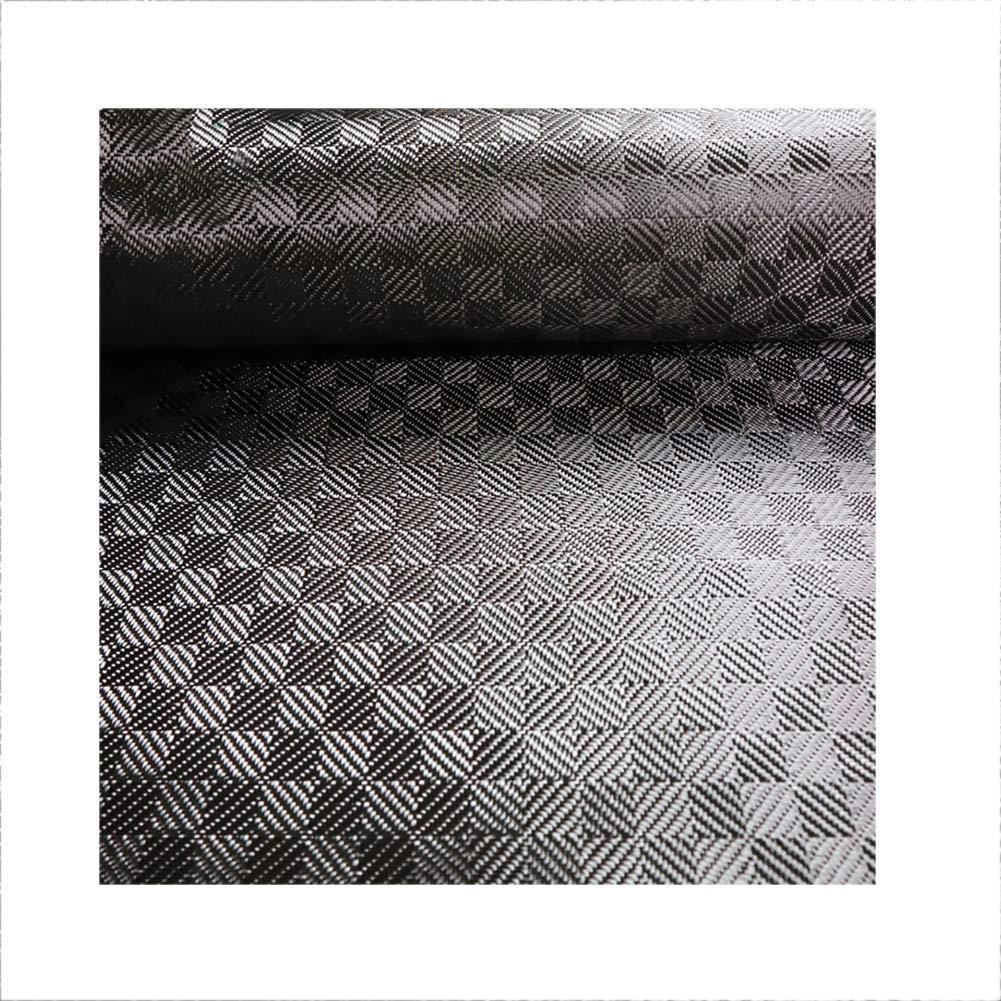 SOFIALXC Carbon Fiber Fabric Cloth 280g/m² Jacquard Cloth 3k 2020 Square Twill Width50cm, Long100cm by SOFIALXC