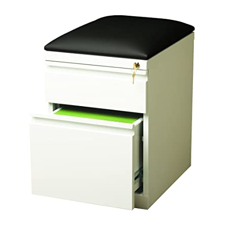 Hirsh Industries 20u0026quot; Deep Mobile Seat Box-File Cabinet ...  sc 1 st  Amazon.com & Amazon.com: Hirsh Industries 20