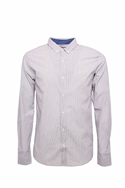 1eb4128456 CALVIN KLEIN JEANS - Camicia uomo slim fit wilshner fine stripe ...