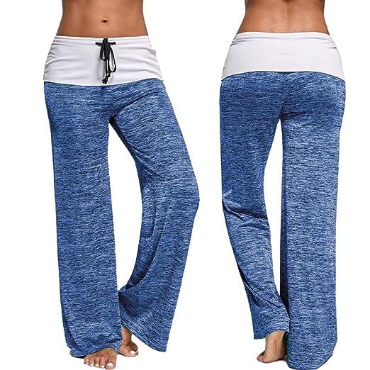 Mounter Las Mujeres niñas Casual Yoga Pantalones de Pijama ...